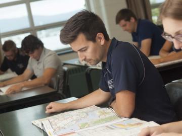 Cours théoriques (cartographie) du DEP en Transport par camion.