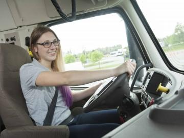 DEP en Transport par camion - apprentissage en circuit fermé.